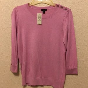 "Ann Taylor ""sweater top"" ladies medium"